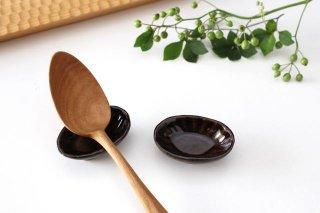 楕円豆鉢 飴 陶器 平沢佳子商品画像