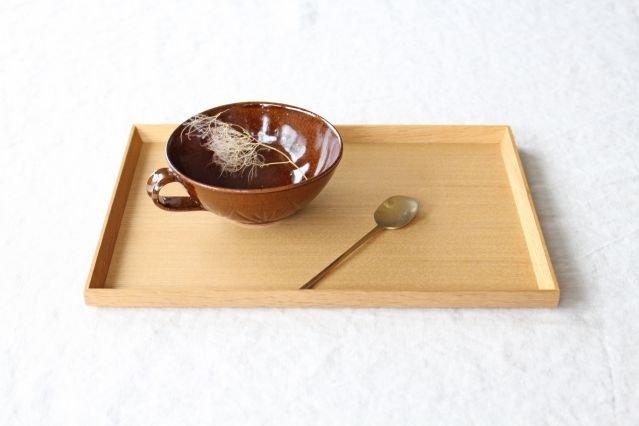 スープカップ クロス 飴 陶器 平沢佳子 画像4