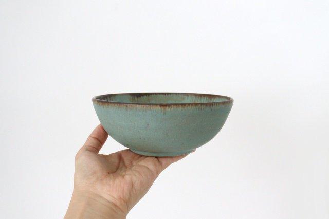 中鉢 薄荷 陶器 平沢佳子 画像5