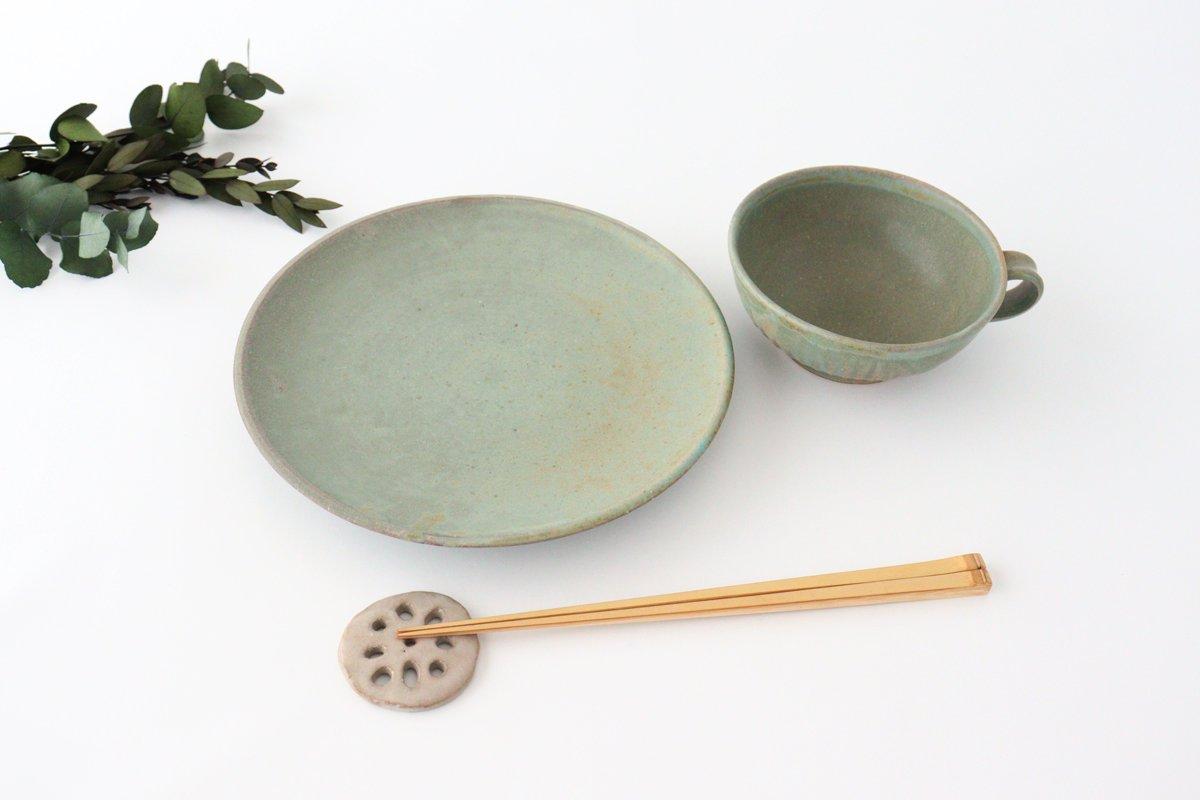 スープカップ ストレート 薄荷 陶器 平沢佳子 画像4