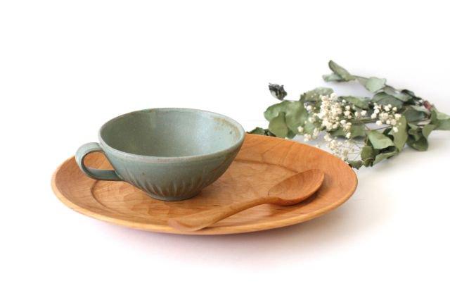 スープカップ ストレート 薄荷 陶器 平沢佳子 画像5