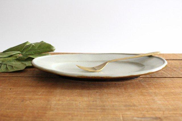 オーバル皿 中 陶器 笠原良子 画像3