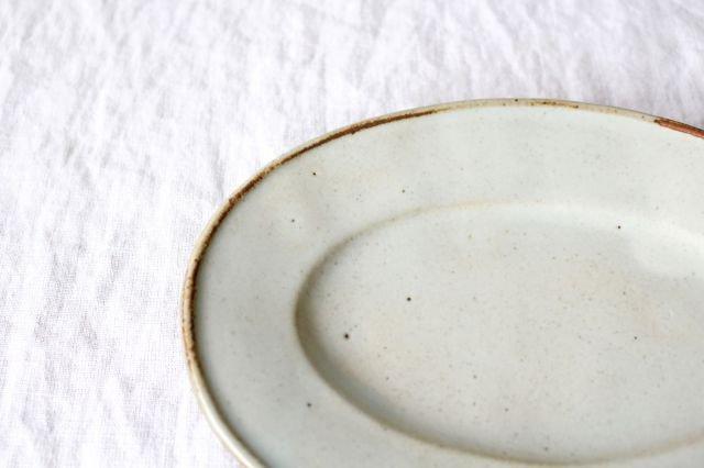 オーバル皿 小 陶器 笠原良子 画像6