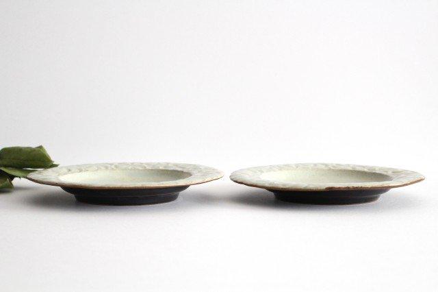 柄リム皿 大 陶器 笠原良子 画像2