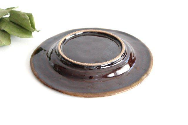 柄リム皿 大 陶器 笠原良子 画像3