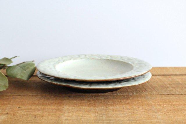 柄リム皿 大 陶器 笠原良子 画像6