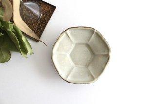 小皿 六角 陶器 笠原良子商品画像