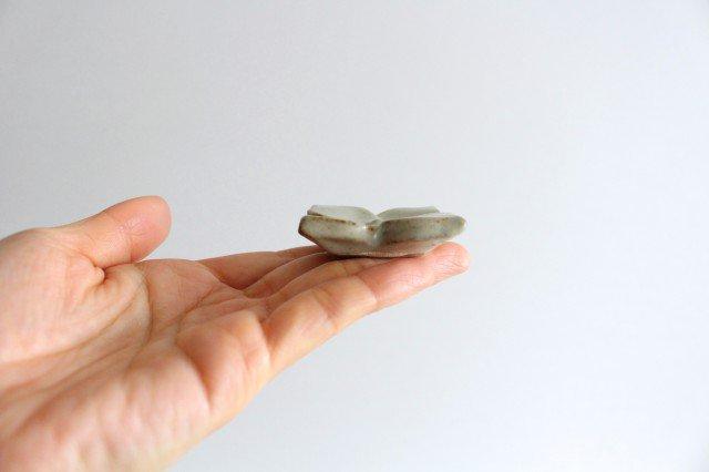 箸置き 白 陶器 笠原良子 画像2