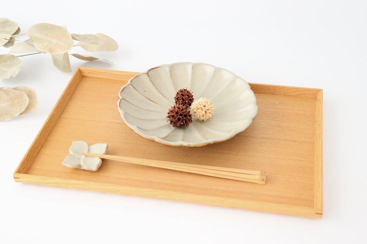 箸置き 白 陶器 笠原良子 画像4