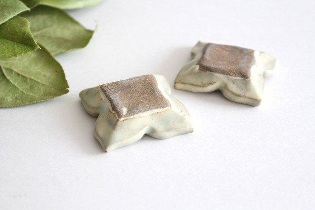 箸置き 白 陶器 笠原良子 画像5