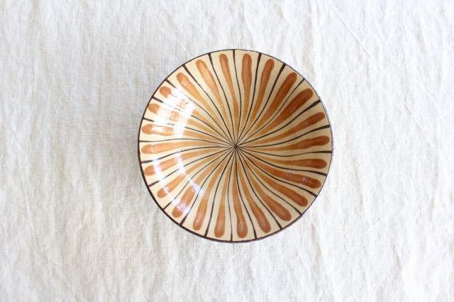 美濃焼 中平鉢 麦藁手(橙)【A】 陶器