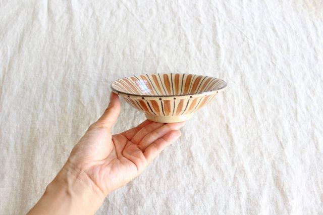 美濃焼 中平鉢 麦藁手(橙)【A】 陶器 画像4