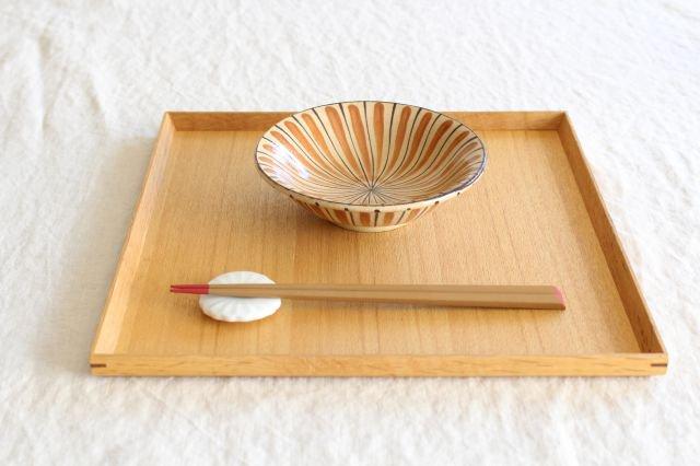 美濃焼 中平鉢 麦藁手(橙)【A】 陶器 画像5