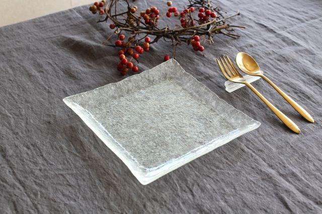 ガラスの四角皿 liir 森谷和輝 画像4