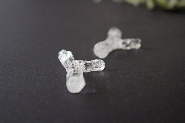 ガラスの箸置き 小枝 ガラス liir 森谷和輝 画像4
