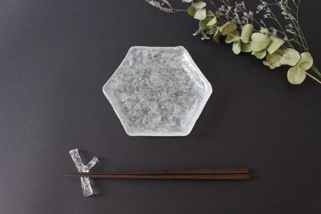 ガラスの箸置き 小枝 ガラス liir 森谷和輝 画像5