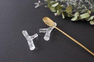ガラスの箸置き 小枝 liir 森谷和輝商品画像