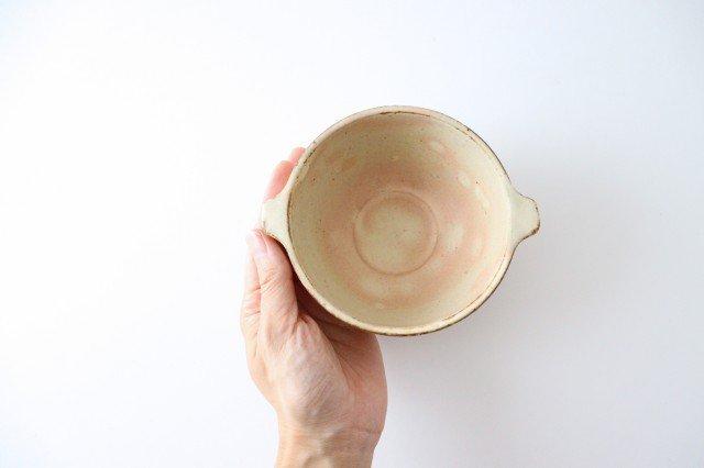 粉福 耳付きスープボウル S 陶器 木のね 画像2