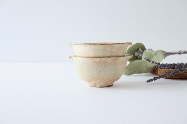粉福 耳付きスープボウル S 陶器 木のね 画像3