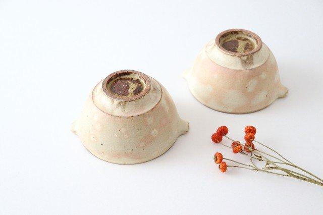 粉福 耳付きスープボウル S 陶器 木のね 画像6