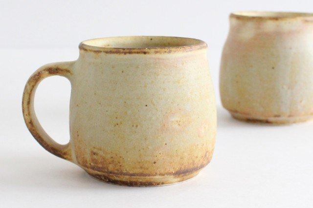 粉福マグカップ honeypot 小 陶器 木のね 画像3