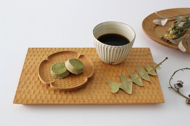 桜のトレイ 木工房玄 高塚和則