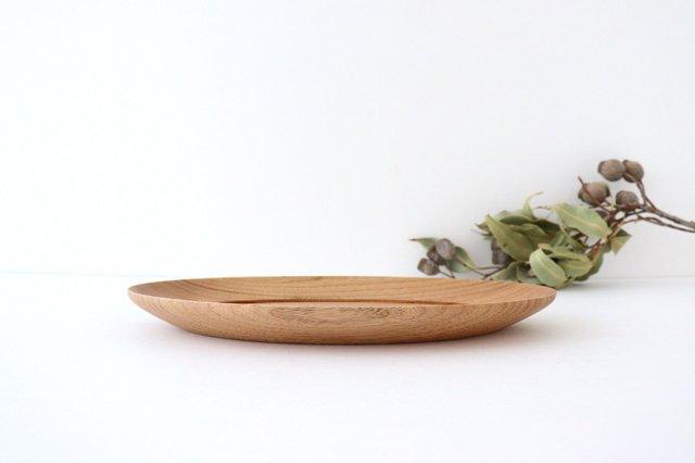 オーバル皿 くるみ 木工房玄 高塚和則 画像2