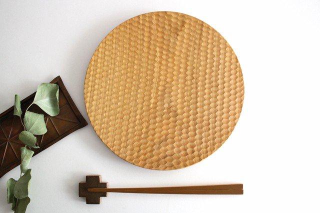 パン皿 大 さくら 木工房玄 高塚和則 画像3