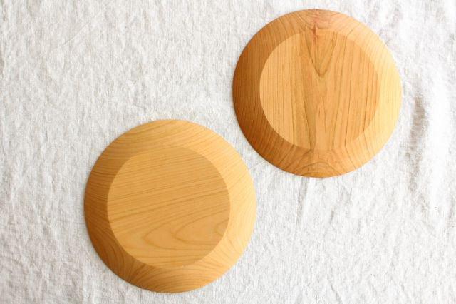 パン皿 大 さくら 木工房玄 高塚和則 画像4