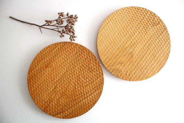 パン皿 大 さくら 木工房玄 高塚和則 画像6