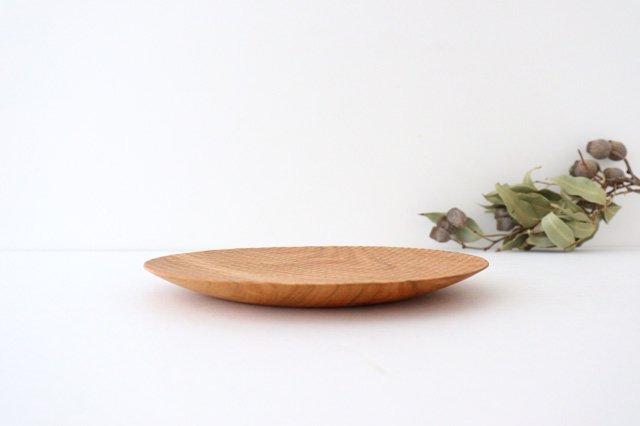 パン皿 中 さくら 木工房玄 高塚和則 画像2