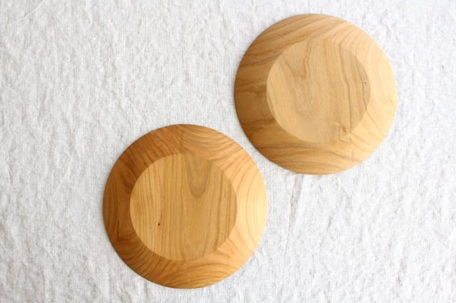 パン皿 中 さくら 木工房玄 高塚和則 画像3