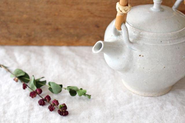 土瓶 石灰 陶器 東屋 画像5