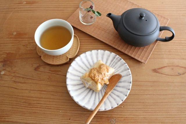 フェザーコーム 角皿 トリコ 【A】 陶器 佐川義乱 画像4