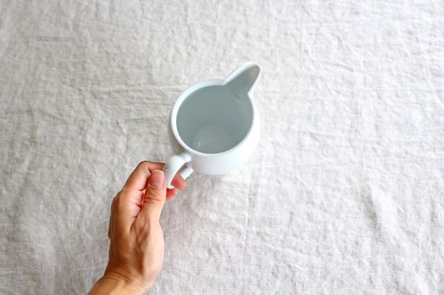 茶海 大 石灰釉 磁器 東屋 画像6