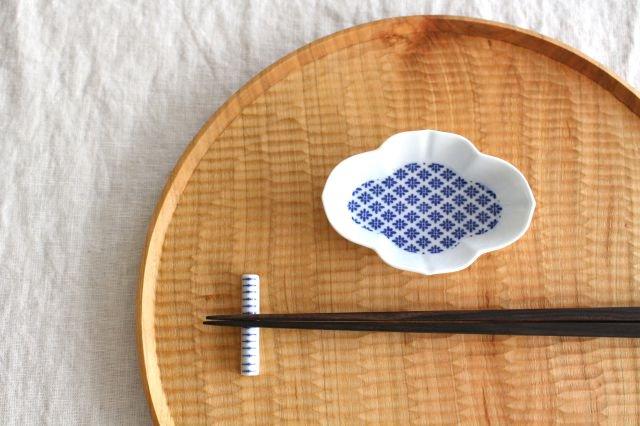 印判箸置き 縁結び 磁器 東屋 画像4