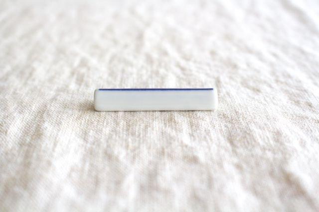印判箸置き 一本 磁器 東屋 画像2