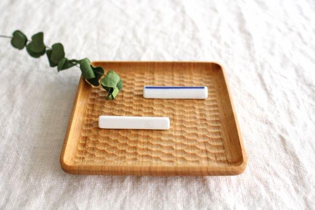 印判箸置き 一本 磁器 東屋 画像6