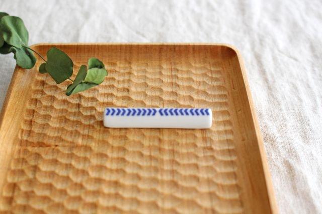 印判箸置き 当的 磁器 東屋 画像3