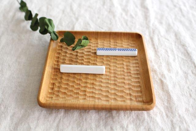 印判箸置き 当的 磁器 東屋 画像4