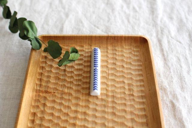 印判箸置き 当的 磁器 東屋 画像6