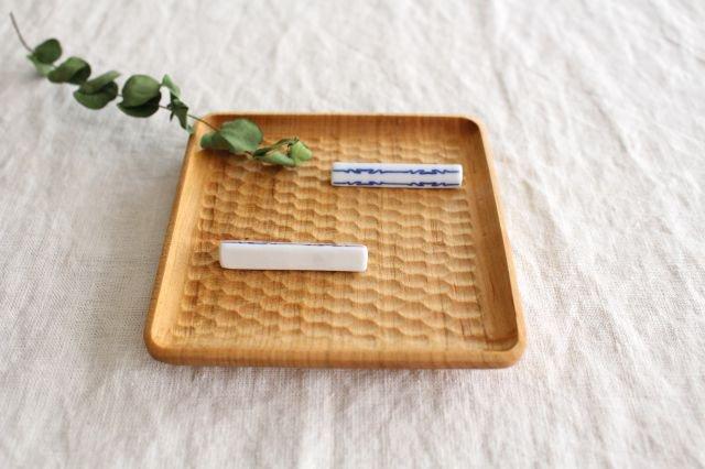 印判箸置き 茎形 磁器 東屋 画像5