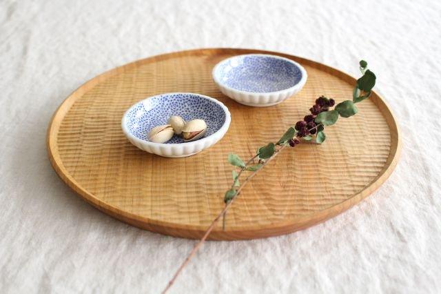 豆皿 印判 ひまわり 磁器 東屋 画像2