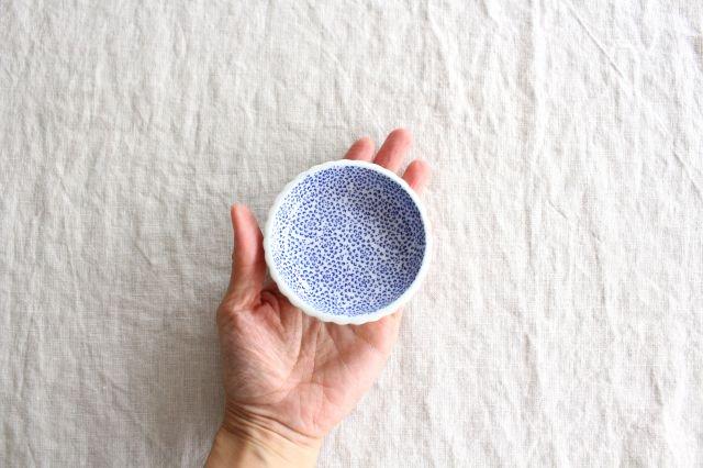 豆皿 印判 ひまわり 磁器 東屋 画像6