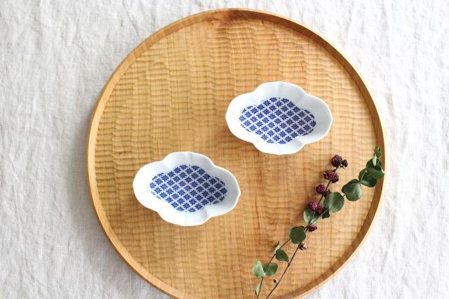 豆皿 印判 木瓜 磁器 東屋 画像5