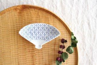 豆皿 印判 扇 磁器 東屋商品画像