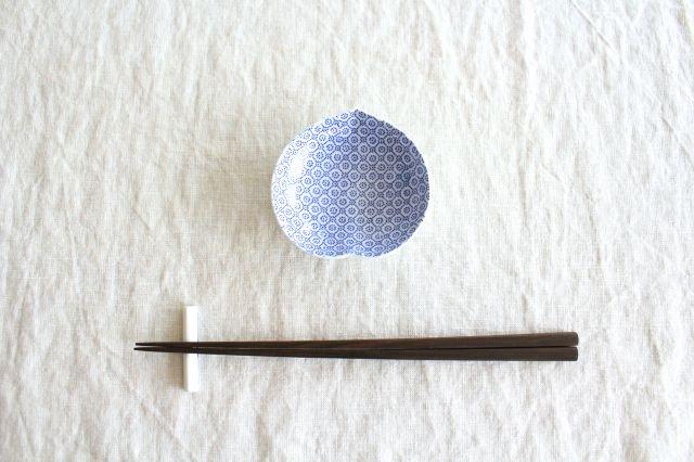 豆皿 印判 桃 磁器 東屋 画像4