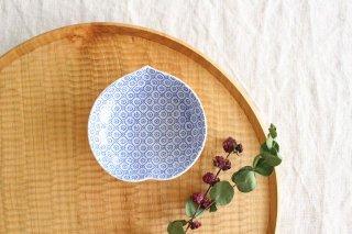 豆皿 印判 桃 磁器 東屋商品画像