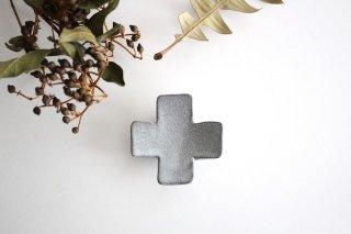 箸置き 十字型 ライトグレー 陶器 辻本路商品画像