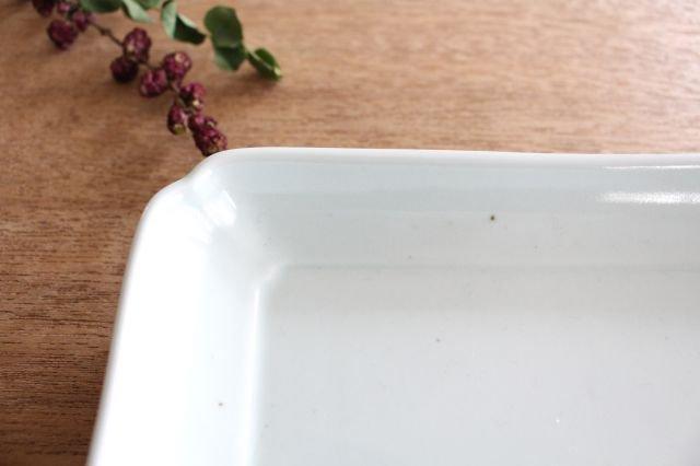 木瓜角皿 土灰 長角 磁器 東屋 画像4